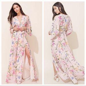 🆕NWT Yumi Kim Floral Kimono Style Maxi Dress